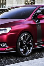 2014 DS 5LS R, Citroen red concept car