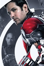 Preview iPhone wallpaper Ant-Man, Paul Rudd