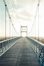Preview iPhone wallpaper Bridge, sunlight