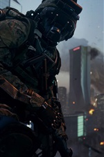 Preview iPhone wallpaper Call of Duty: Advanced Warfare, night