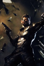 Preview iPhone wallpaper Deus Ex: Mankind Divided, PC game
