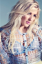 Preview iPhone wallpaper Ellie Goulding 01