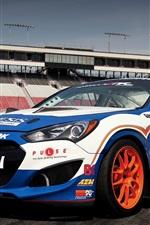 Hyundai Genesis race car