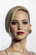 Preview iPhone wallpaper Jennifer Lawrence 04