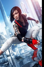 Preview iPhone wallpaper Mirror's Edge Catalyst, 2015 game