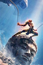 Preview iPhone wallpaper Monkey King: Hero is Back, 2015 movie