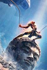 Vorschau des iPhone Hintergrundbilder Monkey King: Held ist zurück 2015 Film