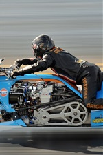 Preview iPhone wallpaper Motorcycle, speed, drag racing