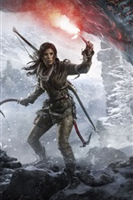 Rise of the Tomb Raider, Lara Croft, cave