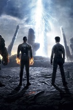 Preview iPhone wallpaper The Fantastic Four 2015 HD movie