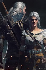 Preview iPhone wallpaper The Witcher 3: Wild Hunt, HD game