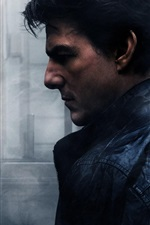 Preview iPhone wallpaper Tom Cruise, Mission: Impossible, Rogue Nation