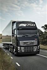 Volvo FH16 750 caminhão, estrada, velocidade