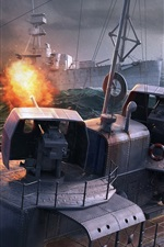 World of Warships, PC game, sea, ships