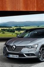 2015 Talisman Renault carro cinza