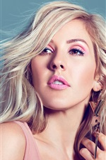 Preview iPhone wallpaper Ellie Goulding 04
