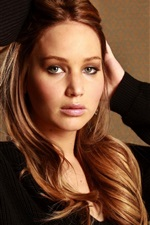Preview iPhone wallpaper Jennifer Lawrence 05