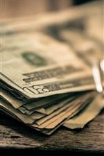 Preview iPhone wallpaper Money, dollars