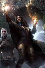 Preview iPhone wallpaper The Witcher 3: Wild Hunt, PC game