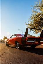 1969 Dodge Charger оранжевый суперкар