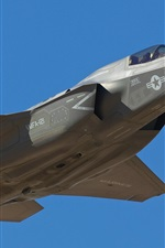 Preview iPhone wallpaper F-35B aircraft