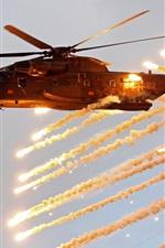 CH-53 Sea Stallion, helicóptero pesado, tiro
