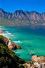 Preview iPhone wallpaper South Africa, Cape Town, beach, sea, coast