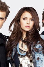 Preview iPhone wallpaper TV series, The Vampire Diaries