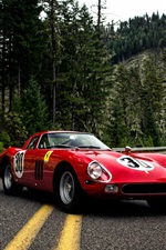 1964 Pininfarina Ferrari 250 GTO Series II red supercar