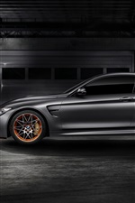 Preview iPhone wallpaper 2015 BMW M4 GTS F82 concept car