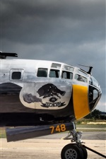 Preview iPhone wallpaper B-29 military aircraft
