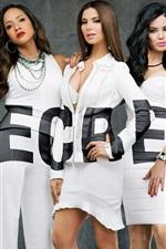 Preview iPhone wallpaper Devious Maids TV series, five girls, secrets
