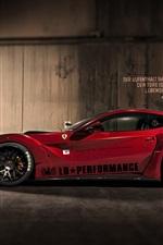Preview iPhone wallpaper Ferrari F12 Japan Sport Car
