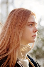 Preview iPhone wallpaper Ginger and Rosa, Elle Fanning