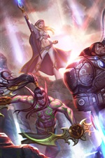 Preview iPhone wallpaper Heroes of the Storm