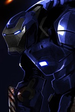 Preview iPhone wallpaper Iron Man 3, art painting