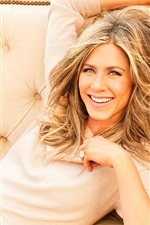 Preview iPhone wallpaper Jennifer Aniston 03
