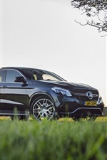 Preview iPhone wallpaper Mercedes-Benz AMG GLE63 SUV car