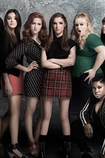Preview iPhone wallpaper Pitch Perfect 2, 2015 movie