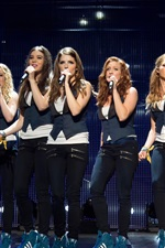 Preview iPhone wallpaper Pitch Perfect 2, musical movie 2015
