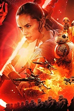 Preview iPhone wallpaper Star Wars Episode VII: The Force Awakens