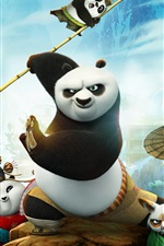Preview iPhone wallpaper 2016 movie, Kung Fu Panda 3