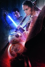 Preview iPhone wallpaper 2016 movie, Star Wars Episode VII: The Force Awakens