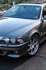 미리보기 iPhone 배경 화면 BMW M5 E39 자동차, 도로