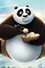 Vorschau des iPhone Hintergrundbilder Kung Fu Panda 3