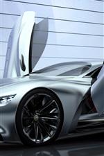 2014 Infiniti Vision Gran Turismo concept supercar, wings