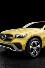 2015 Mercedes-Benz Concept GLC yellow concept car