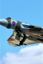 Preview iPhone wallpaper Avro Vulcan strategic bomber
