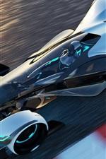 Infiniti Synaptiq concept sport car, speed