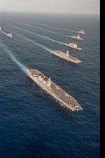 Preview iPhone wallpaper Military ships, weapons, army, sea